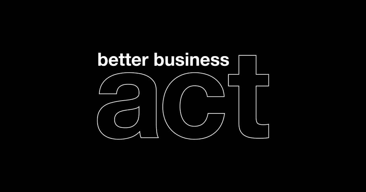 The Better Business Act